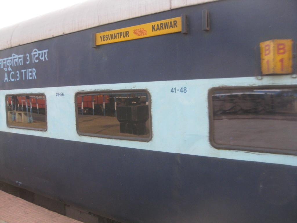 Train to Karwar